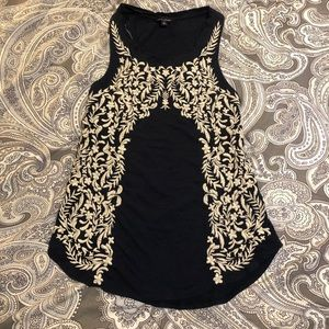 Embroidered Lucky Brand racerback tank